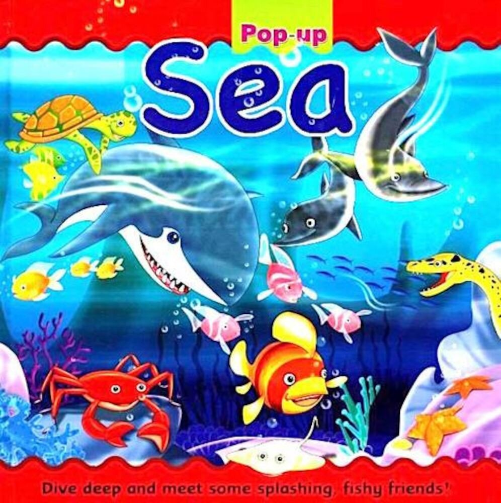 Large Pop Up Book (8 Pops) - Sea (Ctn Qty 10)