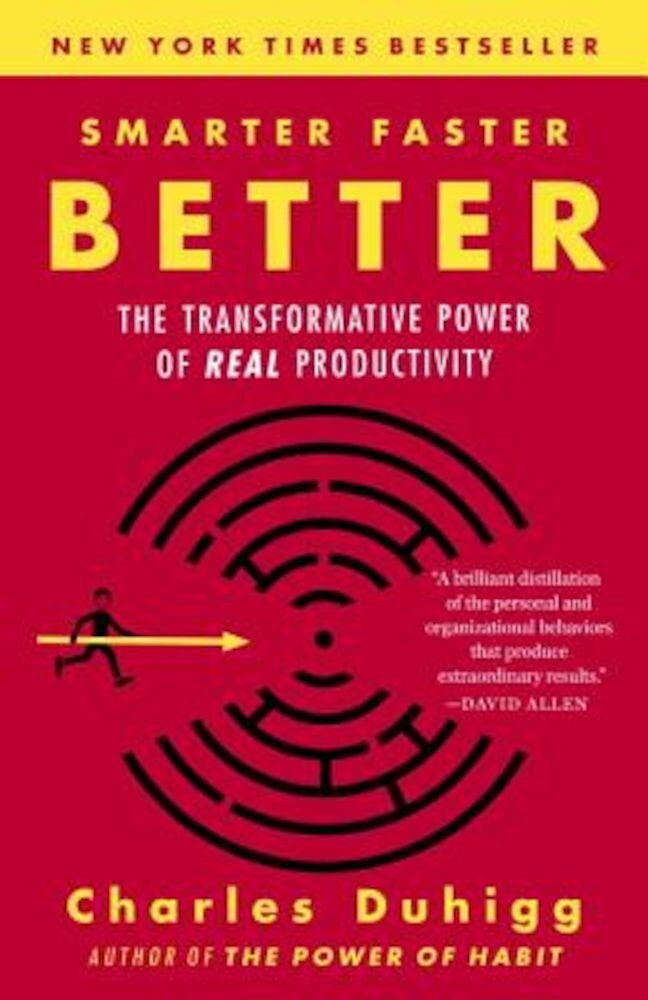 Smarter Faster Better: The Transformative Power of Real Productivity, Paperback
