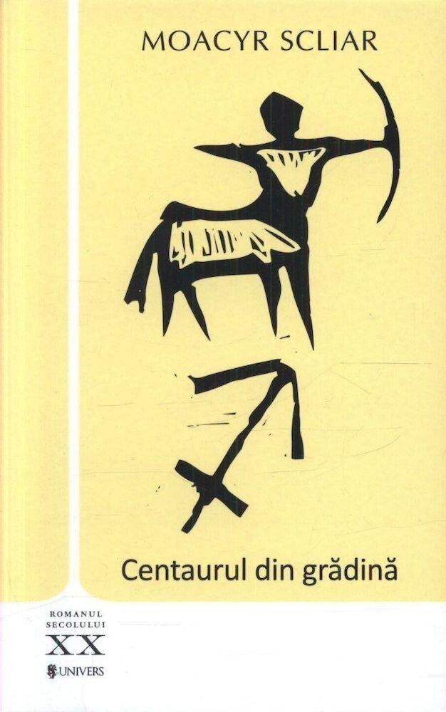 Coperta Carte Centaurul din gradina