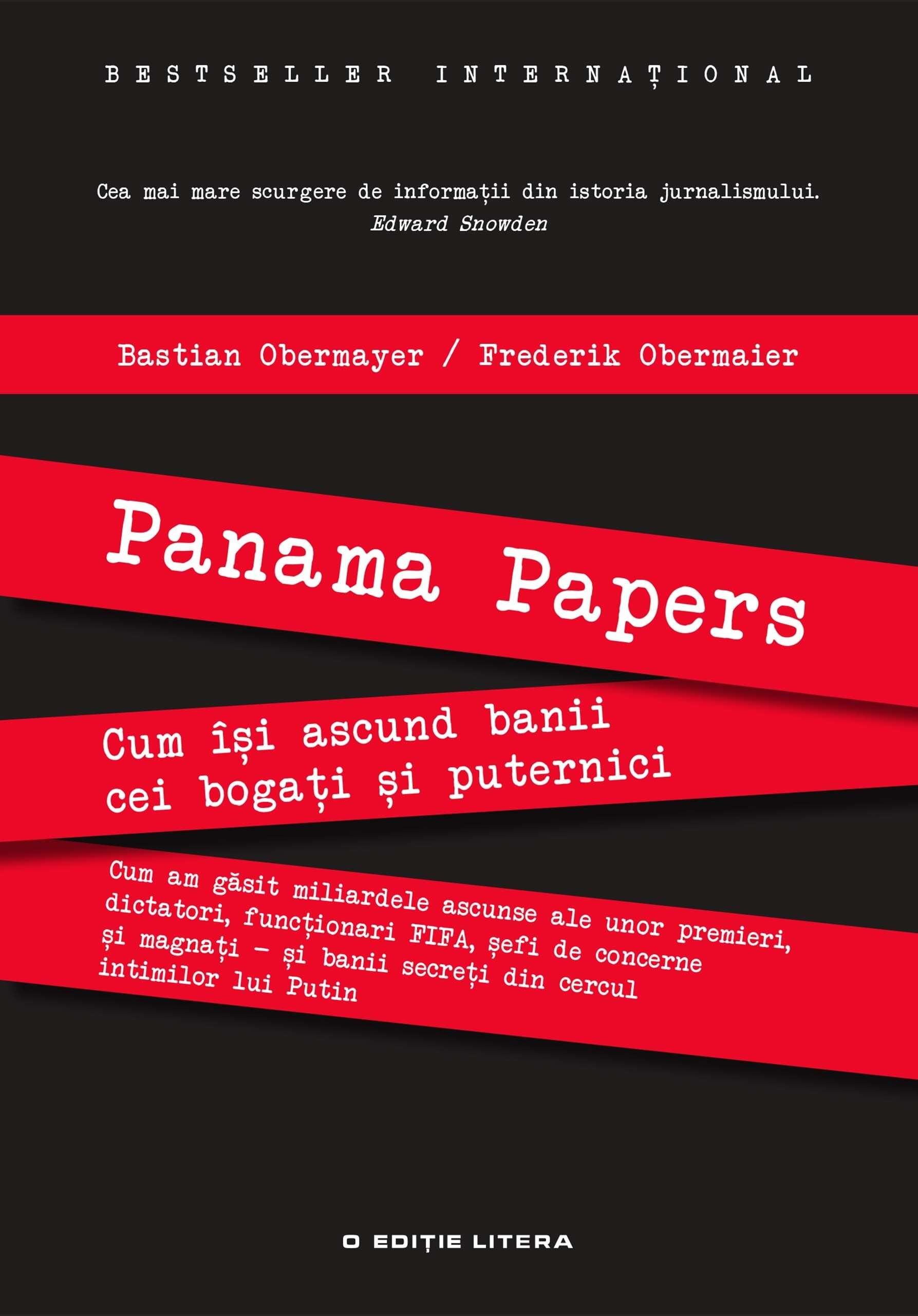 Panama Papers. Cum isi ascund banii cei bogati si cei puternici (eBook)