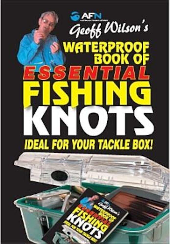 Waterproof Book of Essential Fishing Knots, Paperback