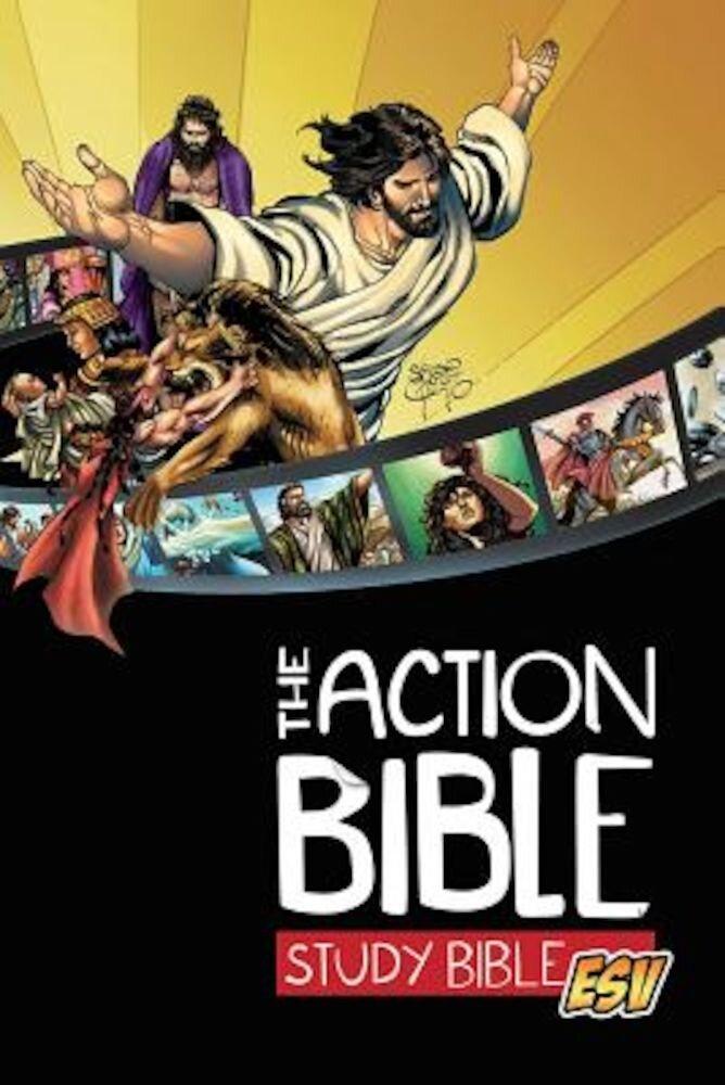 Action Bible Study Bible-ESV, Hardcover