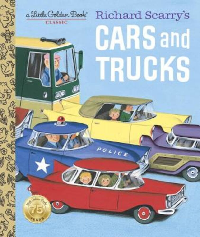 Richard Scarry's Cars and Trucks, Hardcover