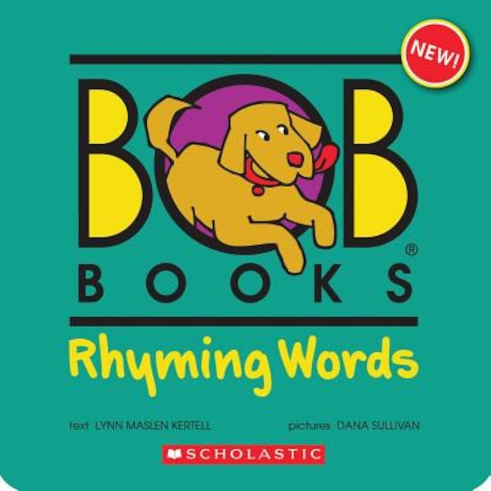 Bob Books: Rhyming Words [With 40 Rhyming Word Puzzle Cards], Paperback