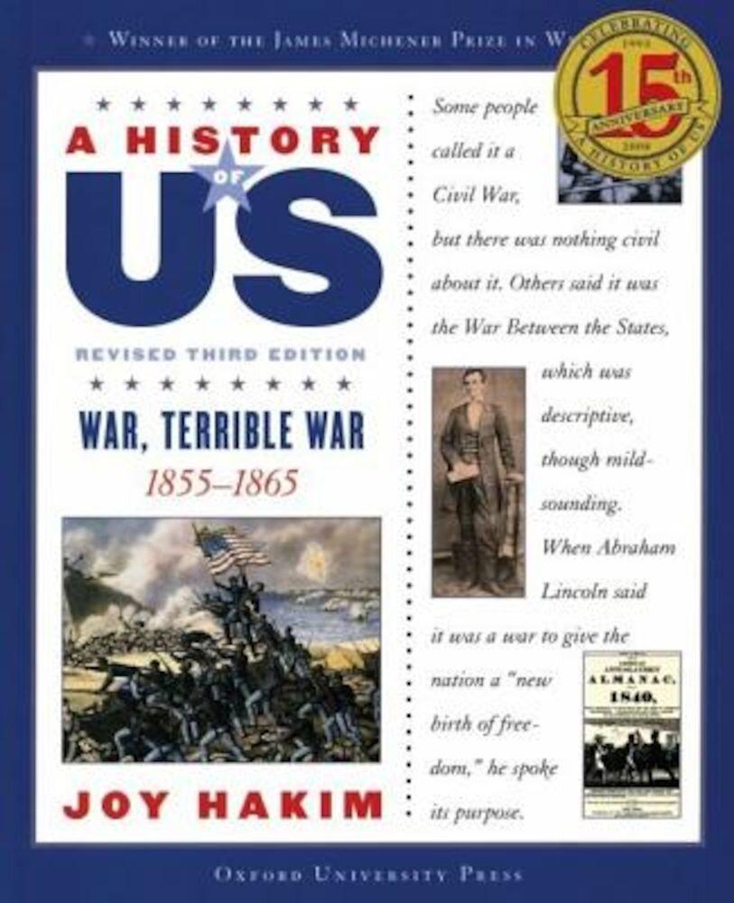 War, Terrible War, 1855-1865, Paperback
