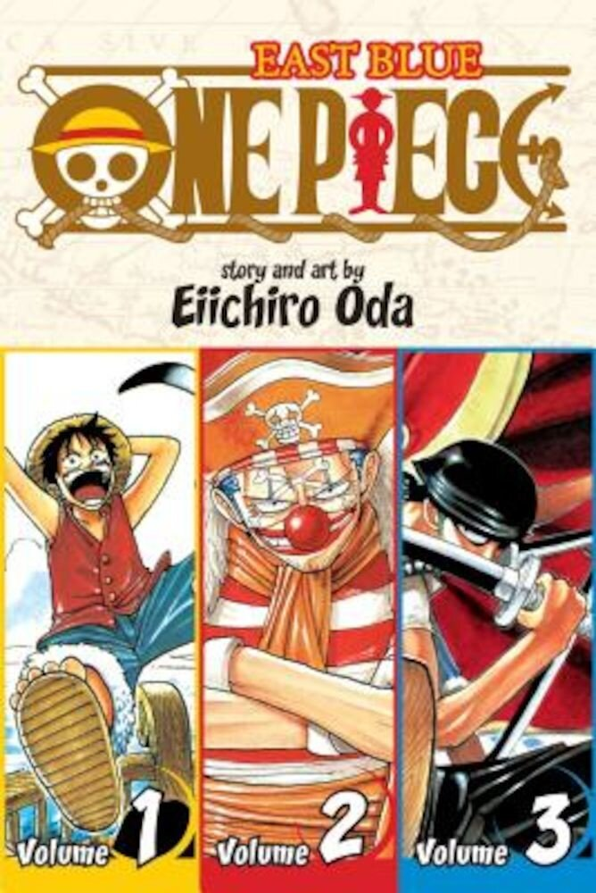 One Piece, Volumes 1-3: East Blue, Paperback