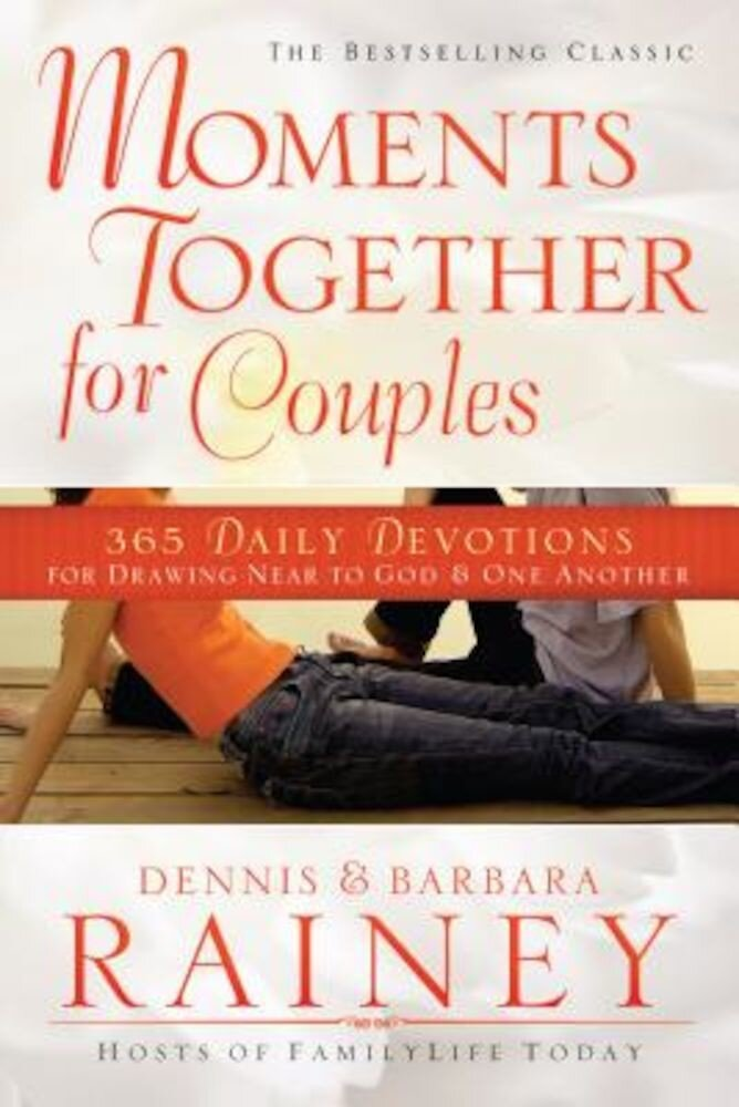 Moments Together for Couples: 365 Daily Devotions for Drawing Near to God & One Another, Paperback