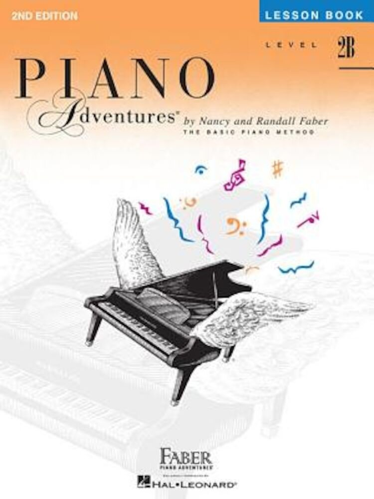 Piano Adventures, Level 2B, Lesson Book, Paperback