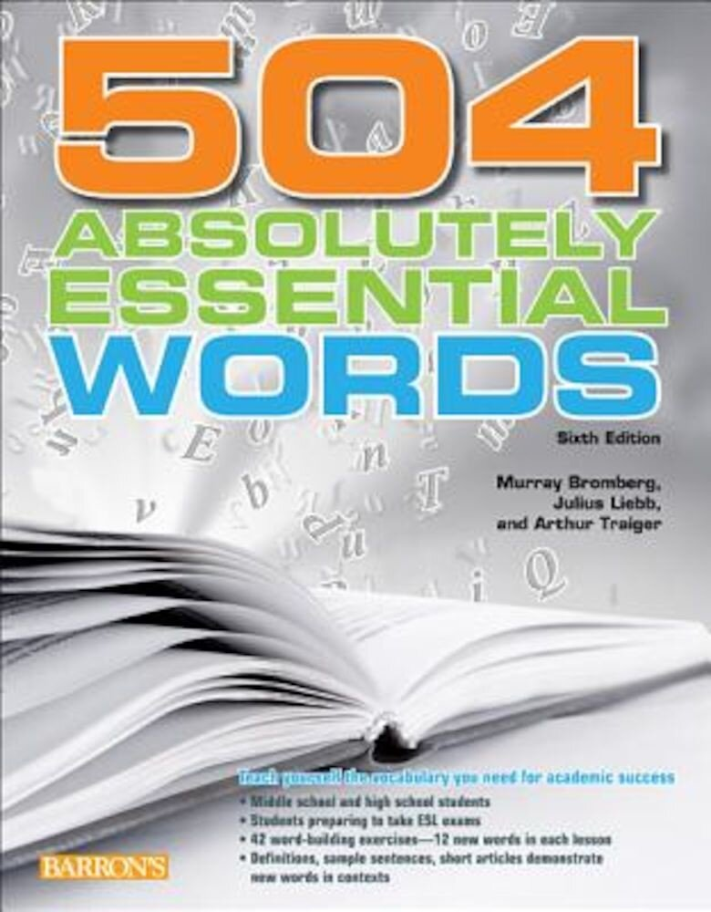 504 Absolutely Essential Words, Paperback