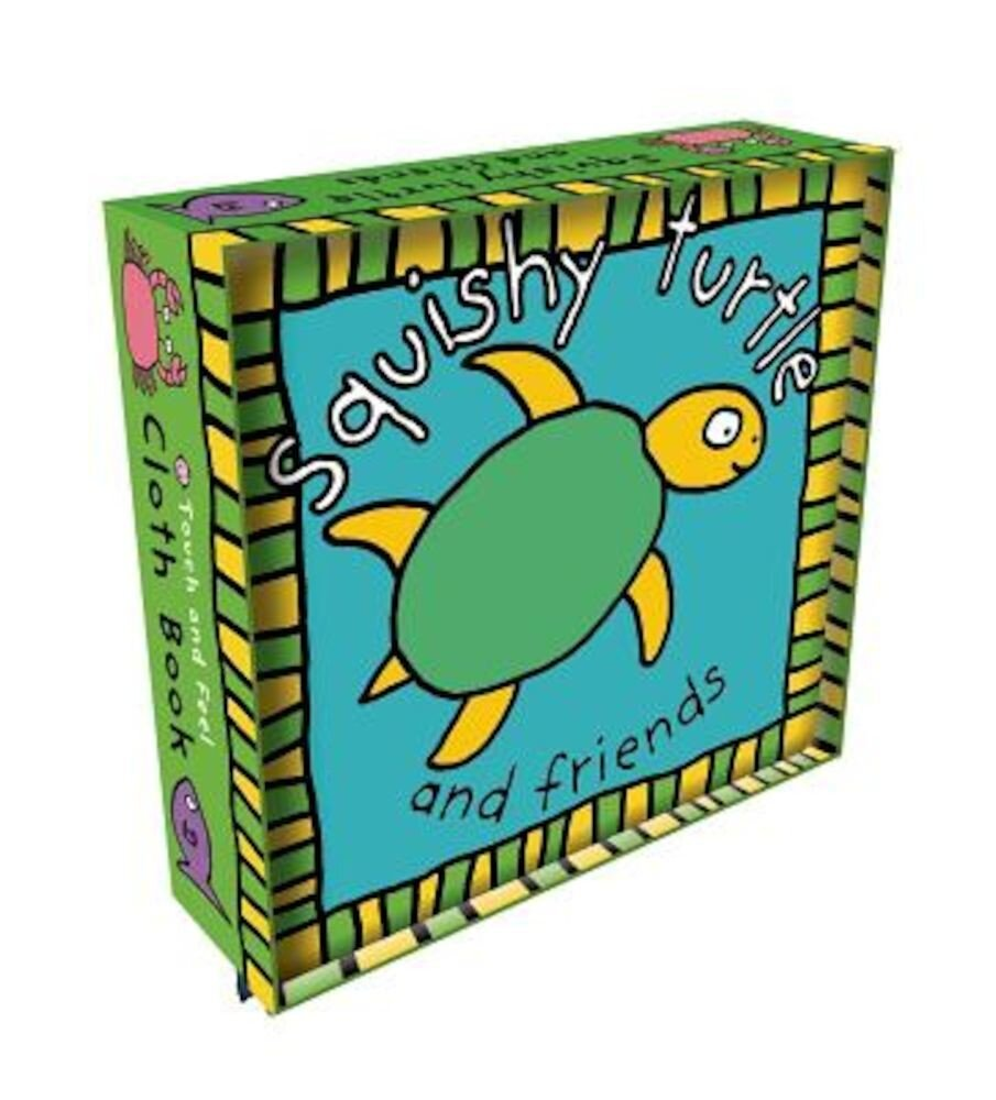 Squishy Turtle Cloth Book, Hardcover