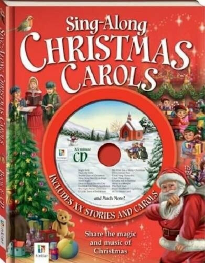 Sing-along Christmas Carols Book and Cd