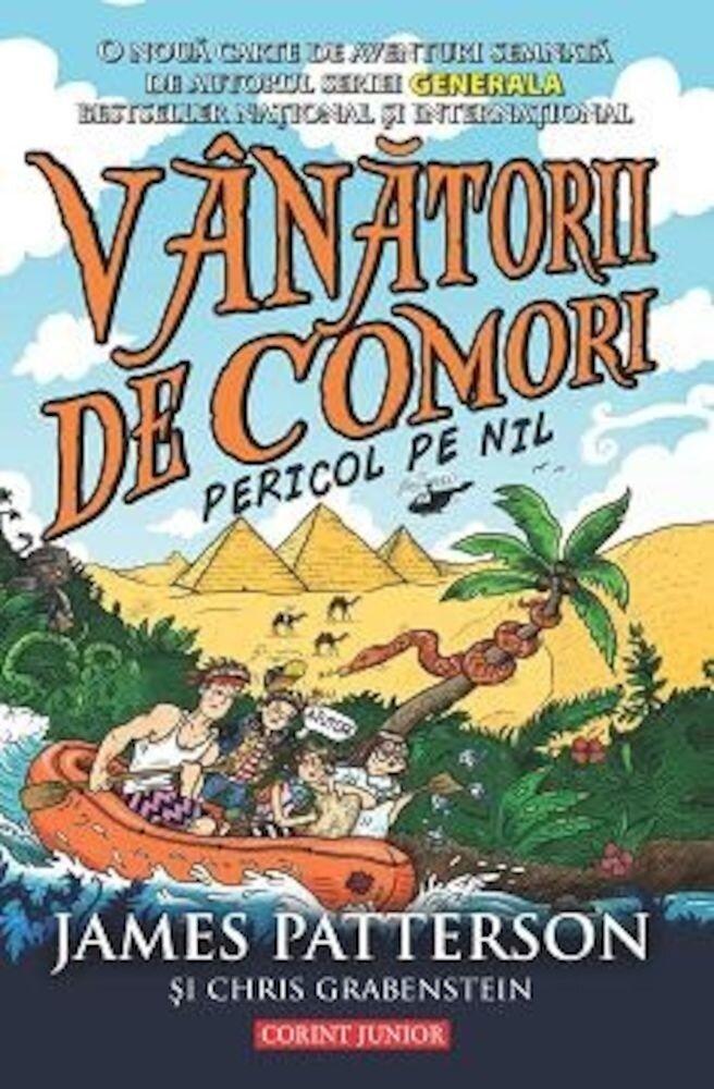 Coperta Carte Vanatorii de comori, Pericol pe Nil, Vol. 2