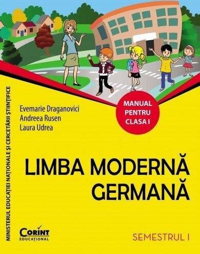 Coperta Carte Limba germana. Manual pentru clasa I (sem. I)