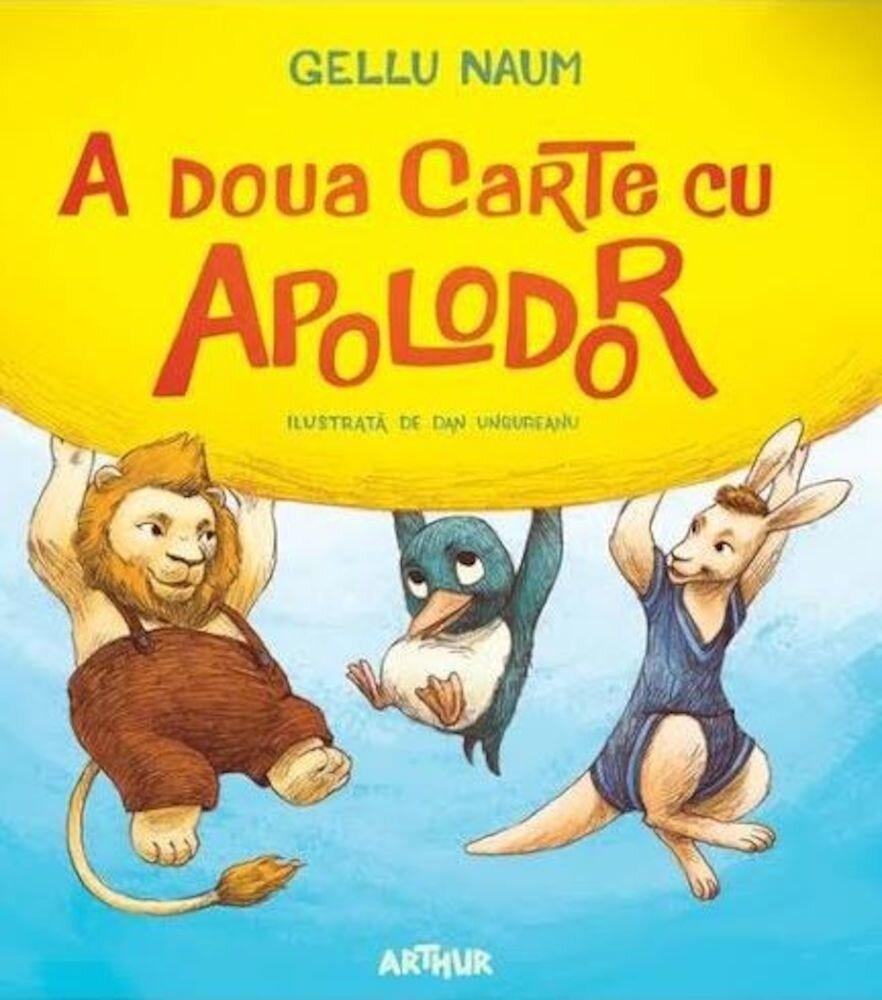 Coperta Carte A doua carte cu Apolodor