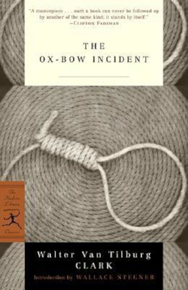 Ox-Bow Incident, Paperback