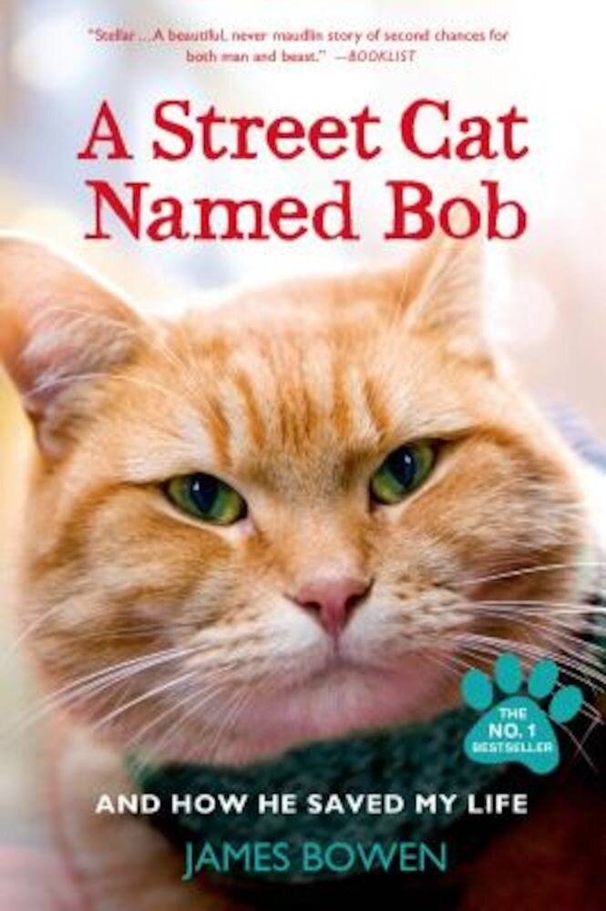 A Street Cat Named Bob and How He Saved My Life, Paperback