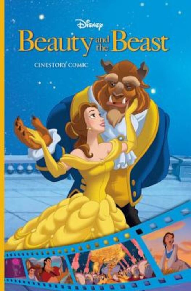 Disney Beauty and the Beast Cinestory Comic, Paperback