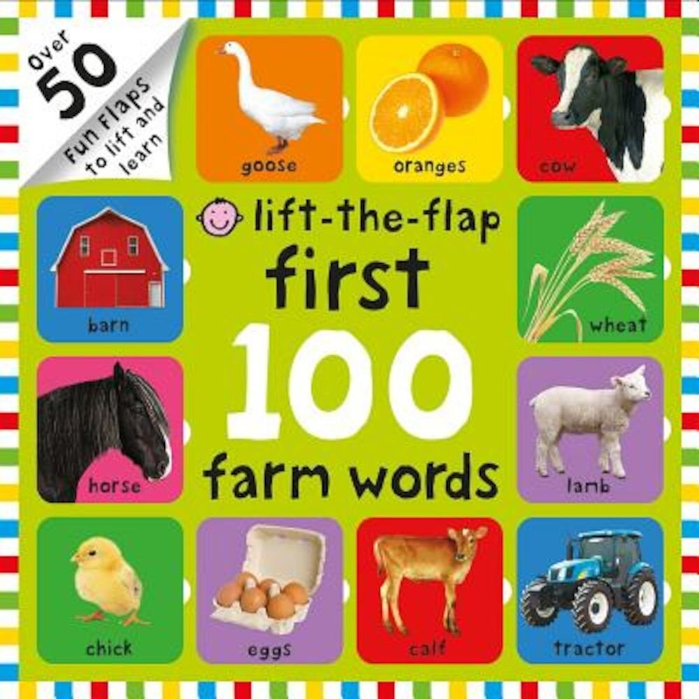 First 100 Farm Words, Hardcover