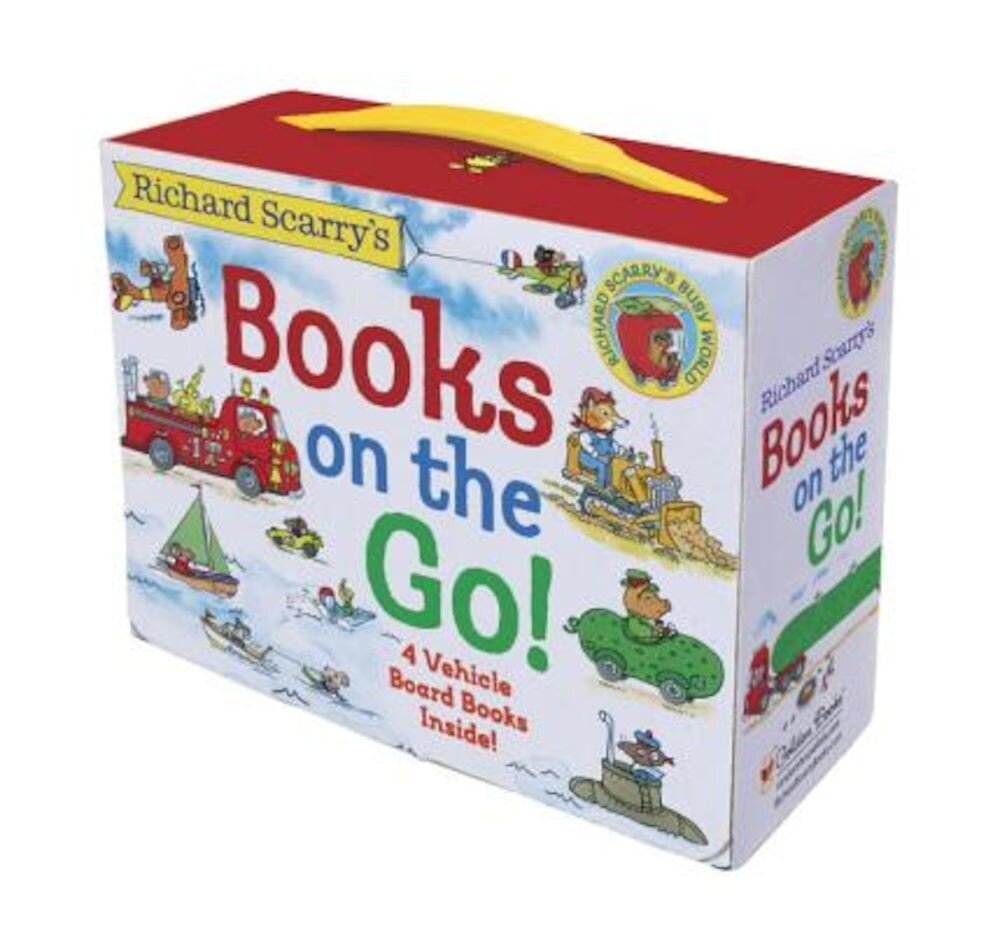 Richard Scarry's Books on the Go, Hardcover