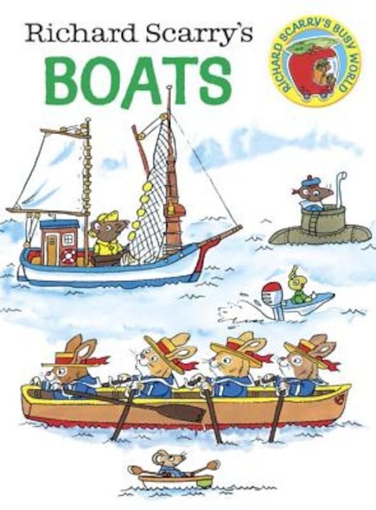 Richard Scarry's Boats, Hardcover