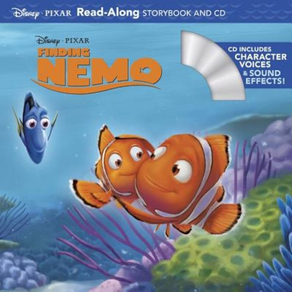 Finding Nemo Read-Along Storybook [With CD (Audio)], Paperback