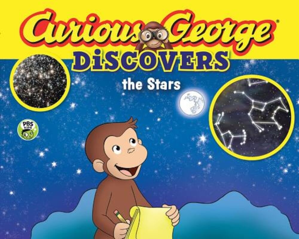 Curious George Discovers the Stars (Science Storybook), Paperback
