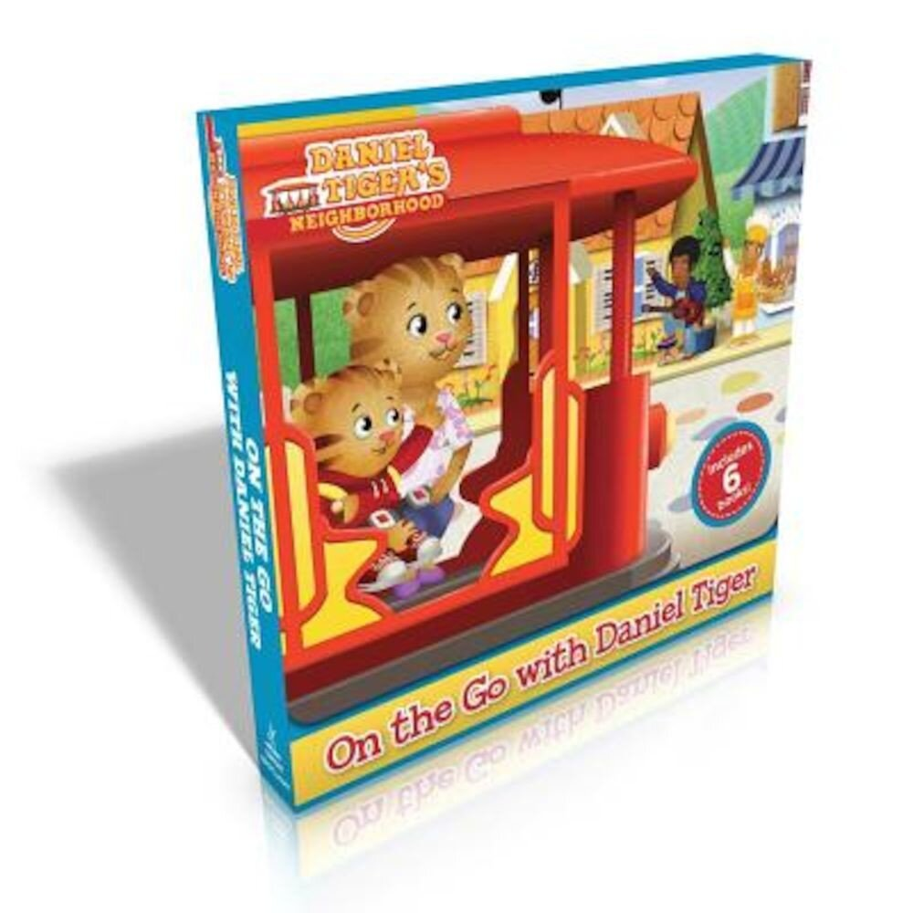 On the Go with Daniel Tiger!: You Are Special, Daniel Tiger!; Daniel Goes to the Playground; Daniel Tries a New Food; Daniel's First Fireworks; Dani, Paperback