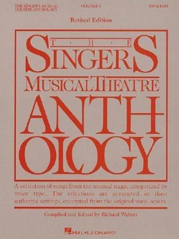 The Singer's Musical Theatre Anthology Volume 1: Soprano Book Only, Paperback