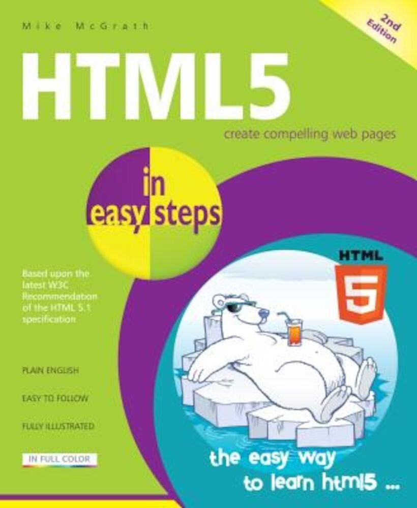 HTML5 in Easy Steps, Paperback
