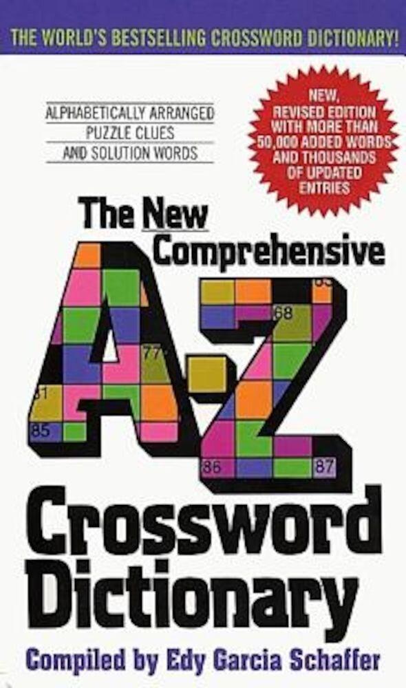 New Comprehensive A-Z Crossword Dictionary, Paperback
