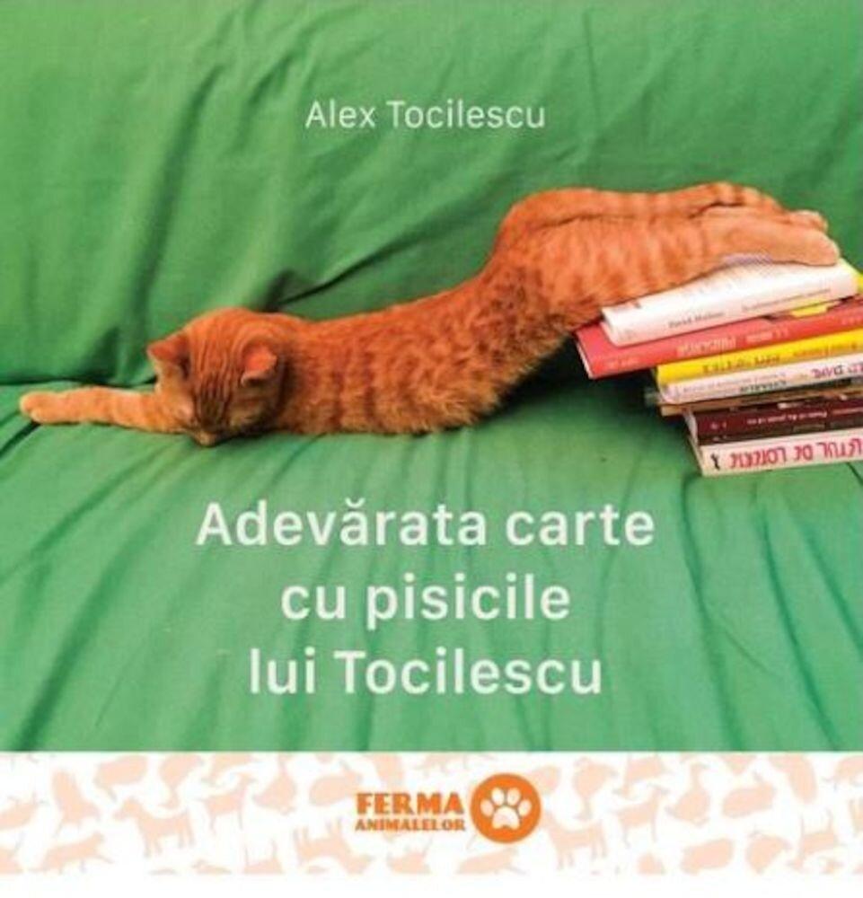 Coperta Carte Adevarata carte cu pisicile lui Tocilescu
