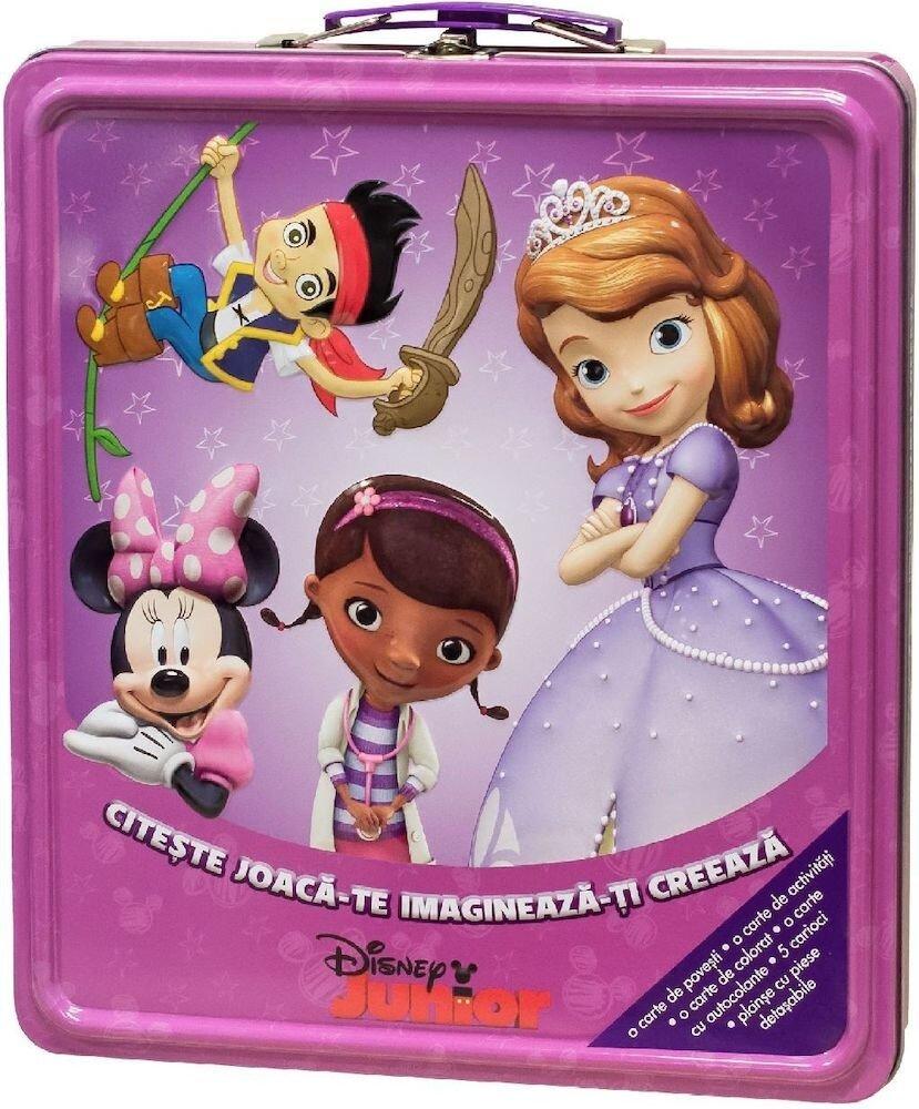 Disney Junior - Citeste, Joaca-te, Imagineaza-ti, Creeaza