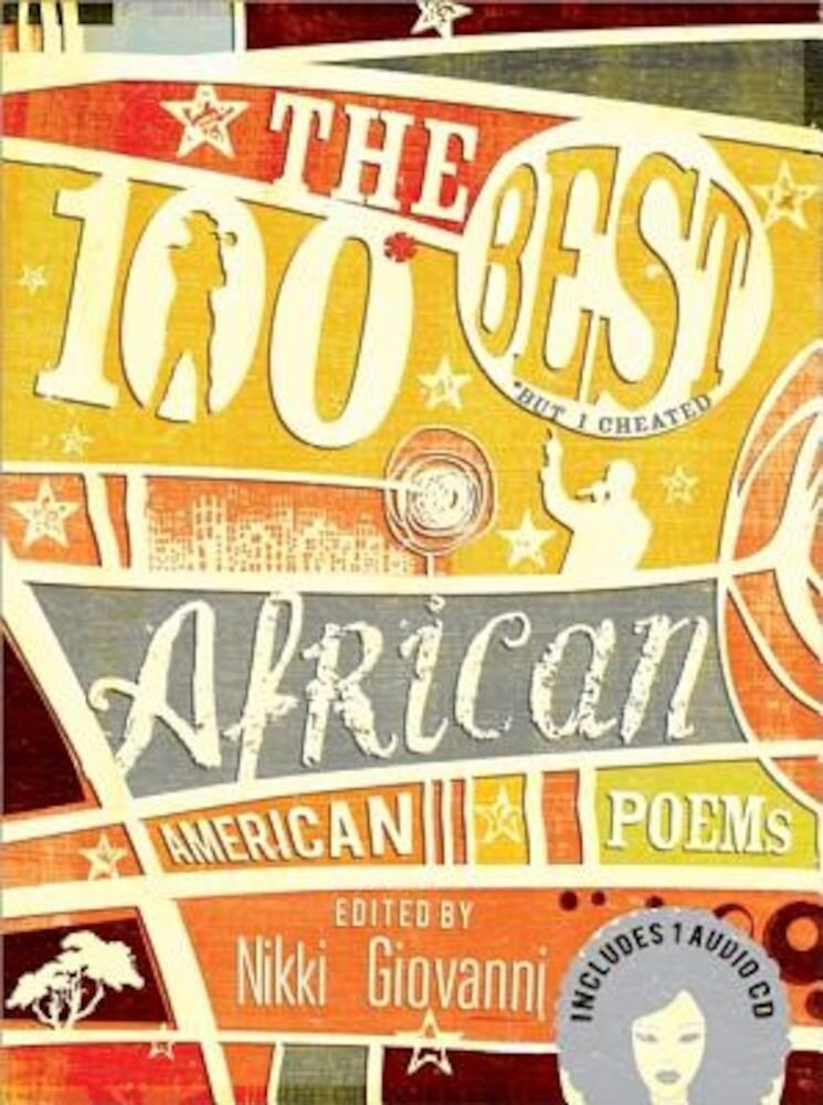 The 100 Best African American Poems [With CD (Audio)], Hardcover