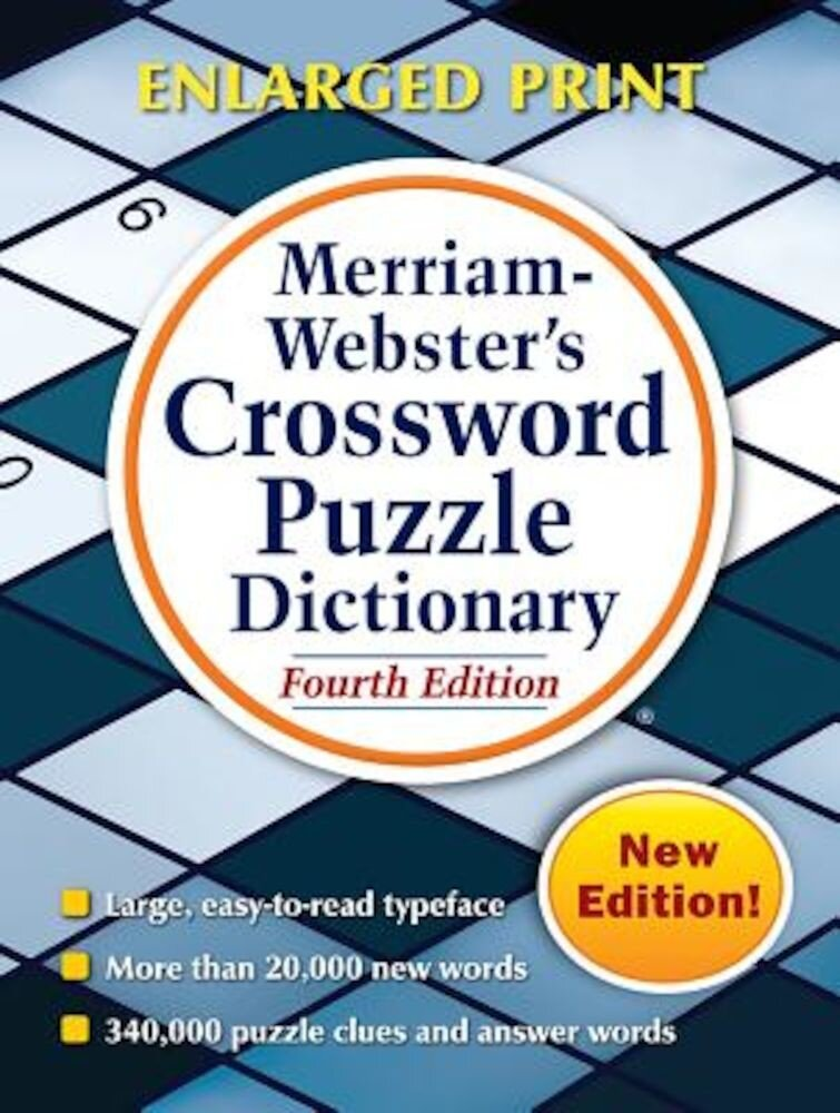 Merriam-Webster's Crossword Puzzle Dictionary, Paperback