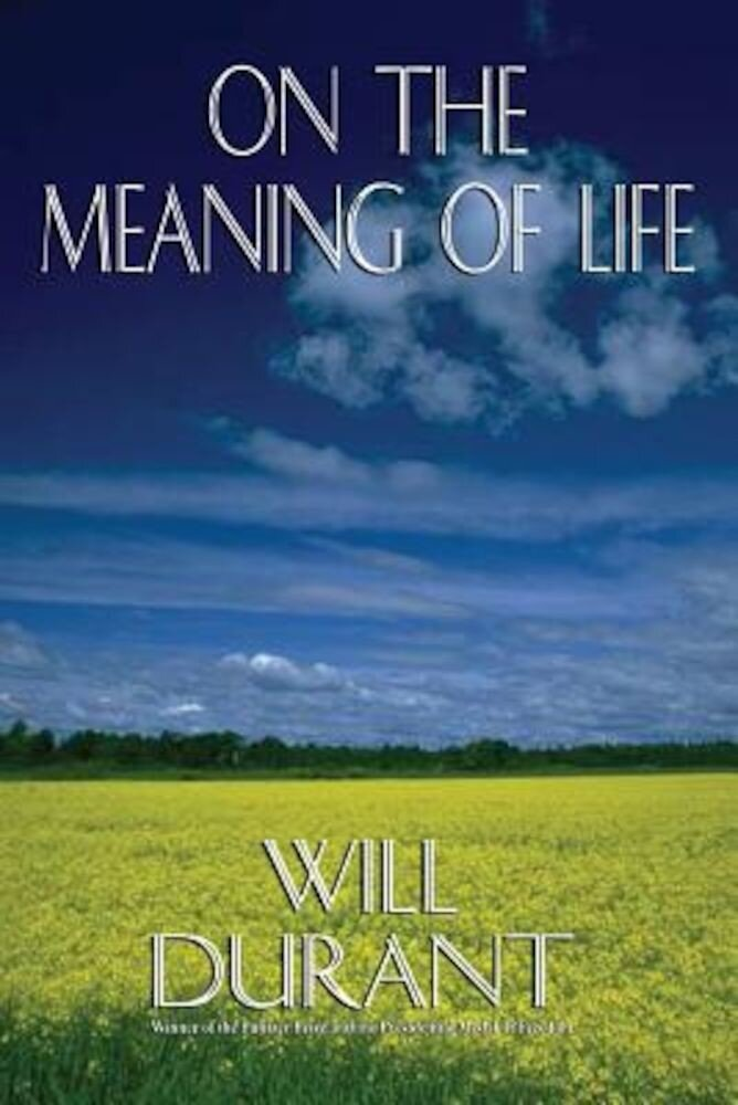 On the Meaning of Life, Paperback