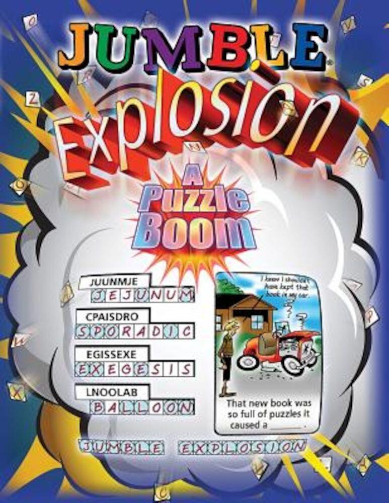 Jumble Explosion: A Puzzle Boom!, Paperback