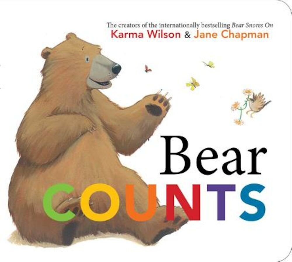 Bear Counts, Hardcover