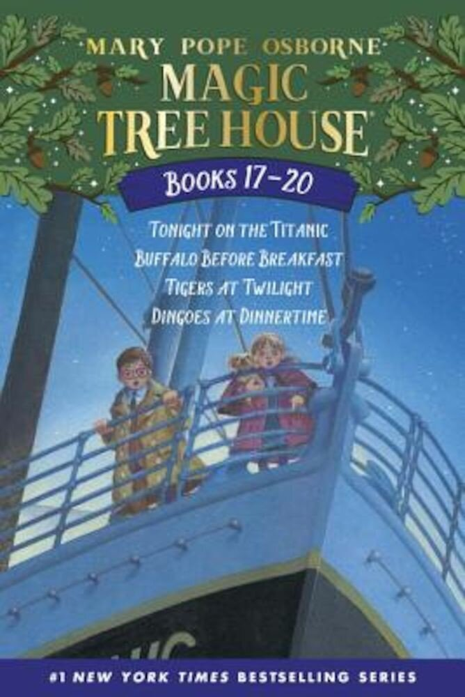 Magic Tree House Volumes 17-20: The Mystery of the Enchanted Dog, Paperback