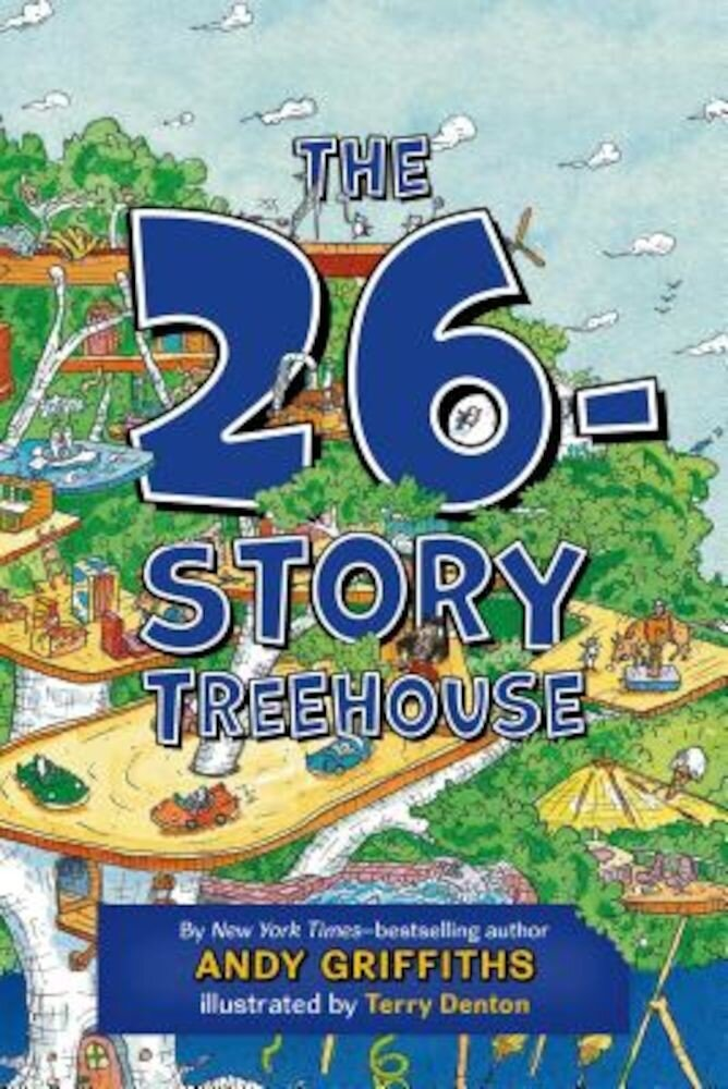 The 26-Story Treehouse, Hardcover