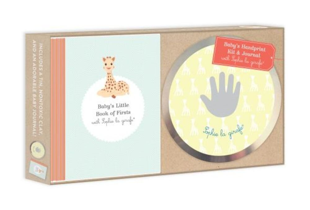 Baby's Handprint Kit and Journal with Sophie La Girafe(r), Hardcover