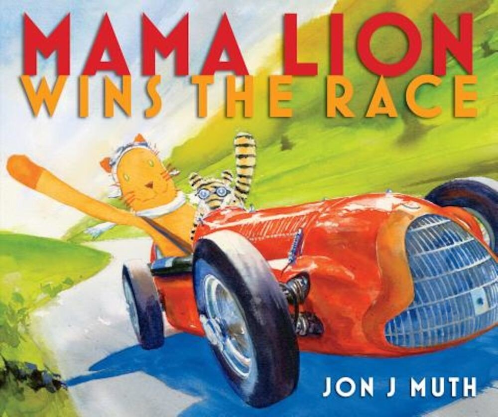 Mama Lion Wins the Race, Hardcover