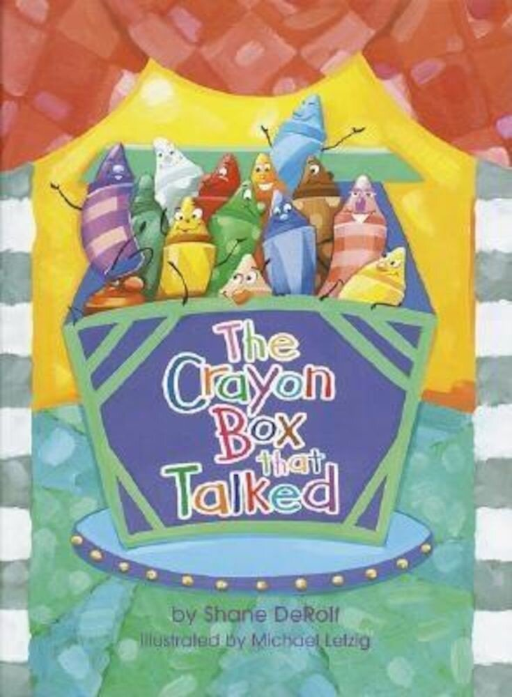 The Crayon Box That Talked, Hardcover