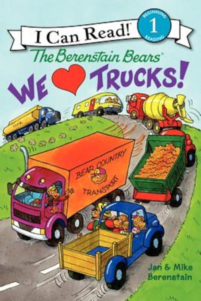 We Love Trucks!, Paperback