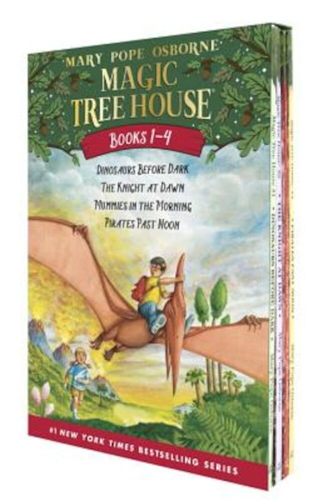 Magic Tree House #1-4, Paperback