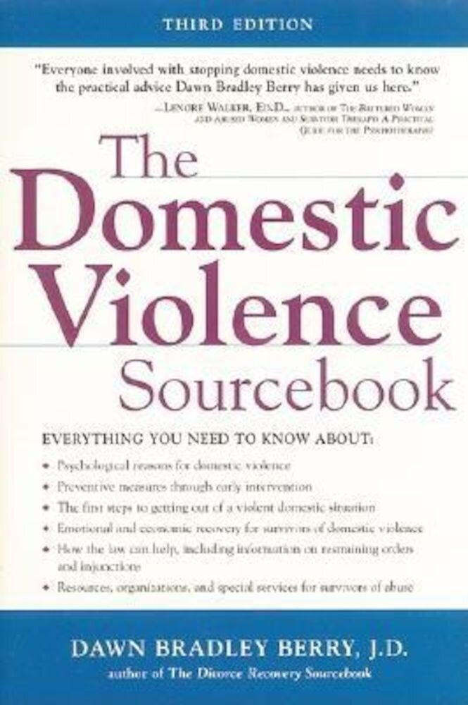 The Domestic Violence Sourcebook, Paperback