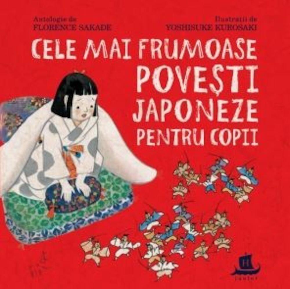 Coperta Carte Cele mai frumoase povesti japoneze pentru copii