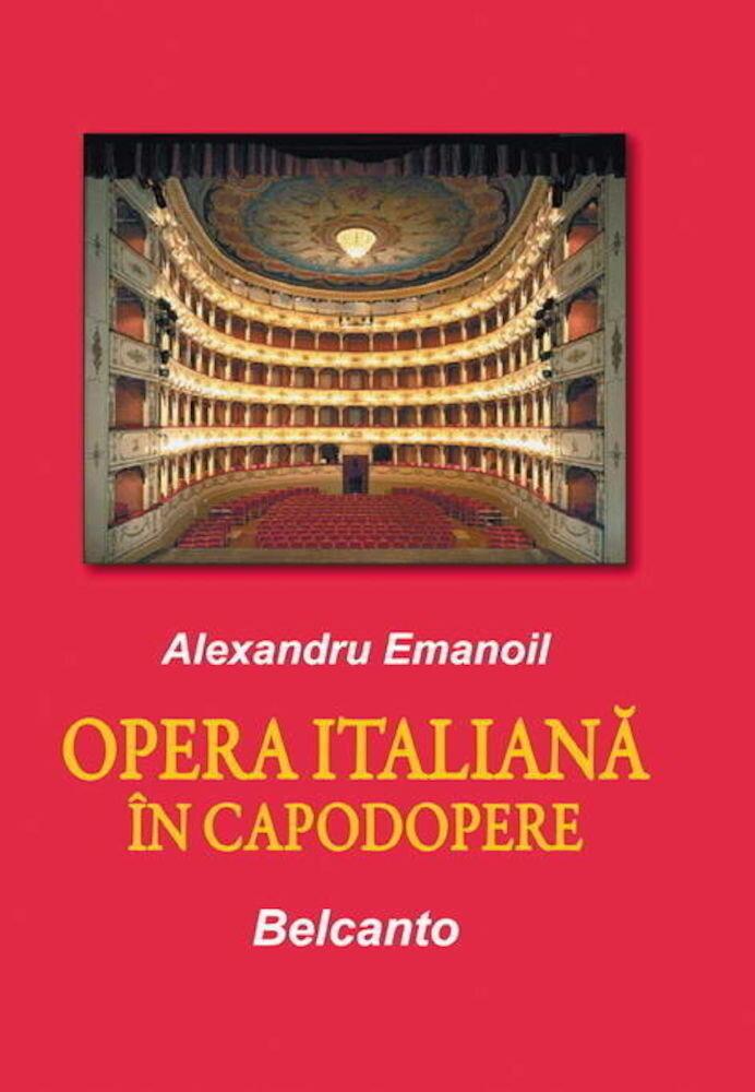 Coperta Carte Opera italiana in capodopere