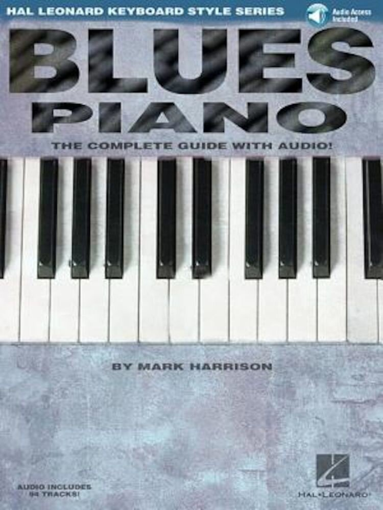 Blues Piano: Hal Leonard Keyboard Style Series, Paperback
