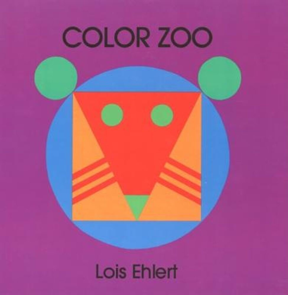 Color Zoo Board Book, Hardcover