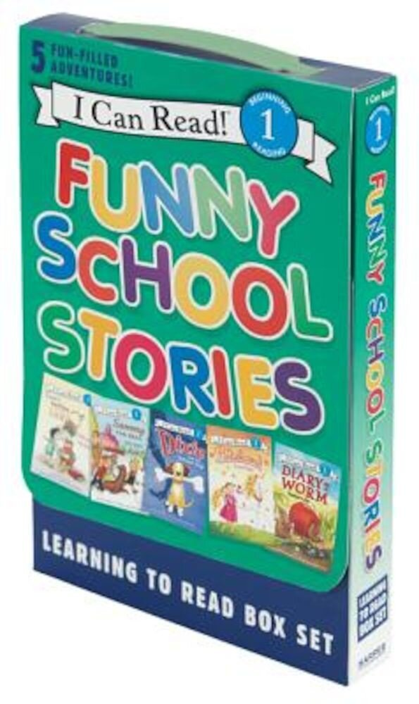 Funny School Stories: Learning to Read Box Set: 5 Fun-Filled Adventures!, Paperback